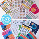 Planner Stickers Qty 1076 any Planner Calendar Busy Mom+Dad Pad Man Stickers