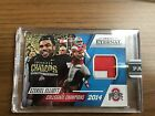 2016 Panini Eternal Ohio State Ezekiel Elliott Jersey Patch 2C Red White 11 25