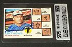 HOF EDDIE MATHEWS 1973 TOPPS SIGNED AUTOGRAPHED CARD #237 BRAVES CAS AUTHENTIC