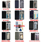 For Asus Series Phone LCD Display Touch Screen Digitizer With Frame +Tools+3M