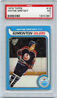 79-80 TOPPS ROOKIE RC #18 WAYNE GRETZKY OILERS PSA 7