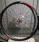 Giant 27.5 MTB wheel with Shimano 180mm rotor
