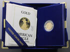 1989 P U.S. One-Tenth Ounce Five Dollar $5.00 1/10 ozt Proof Gold Eagle Coin