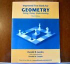 Improved Test Bank for Geometry Seeing Doing Understanding Harold R Jacobs NICE