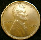 1909-P XF Lincoln Cent Wheat Penny