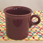 Fiestaware Cinnabar Mug Fiesta Retired Maroon Ring Handled Tom & Jerry Mug