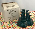 Fiestaware Juniper Pyramid Candle Holder Fiesta Retired Teal Green Single NIB