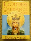 New Goddess Guidance Oracle Cards by Doreen Virtue Paperback Book English