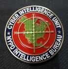 RARE NYPD challenge coin intelligence Bureau cyber intelligence unit