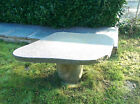 Very LARGE Solid Granite Garden stone Table Brand New ex Display