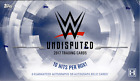 2017 TOPPS WWE UNDISPUTED WRESTLING FACTORY SEALED HOBBY BOX- 10 HITS!