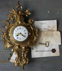 CHARLES HOUR Louis XV French Ormolu Wall Clock Sothebys Appraised 1500 in 1983