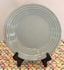 Fiestaware Pearl Gray Lunch Plate Fiesta Retired Grey 9 inch Luncheon Plate