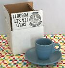 Fiestaware Periwinkle Demi Cup and Saucer Fiesta Retired Blue Childs Tea Set NIB
