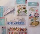 Scrapbooking Stickers Lot Jolees Boutique CRUISE Ship Mexico Casino Vacation