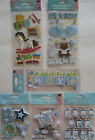 Scrapbooking Stickers Lot Jolees Boutique BABY BOY Bottles Toys Outfit Blocks