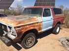 1978 Ford Bronco  1978 for $2500 dollars