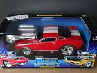 Muscle Machines 1966 Shelby Mustang GT 350 Red 118 Scale Diecast 66 Ford Car