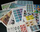 Mint Never Hinged OG US Postage Stamps Face Value 42 Plus Sheets Blocks Lot 9