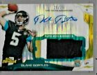 2014 Topps Finest Pulsar Refractor Blake Bortles 3 Color Patch Auto Rc # to 25