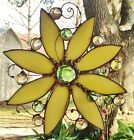 Sunflower Stained Glass Suncatcher Window Panel Light Catcher Tiffany Style