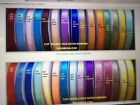 5 8 DOUBLE FACE SATIN RIBBONS CHOOSE FROM 43 COLOR