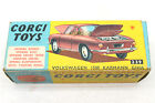 Vintage Corgi Karmann Ghia 1500 Gold 239 Volkswagen VW Die Cast Car w Orig Box