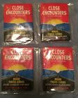 1978 Close Encounters Of The Third Kind Movie Unopened Wax Pack 4 Pack Lot