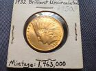 1932 $10 US Indian Head Eagle Gold Coin