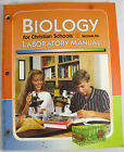 Biology Laboratory Manual 2nd Ed Bob Jones BJU Student Workbook