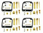 4x Yamaha XJ400 Maxim Seca Carburetor Carb Rebuild Rrpair Kit 4 KITS