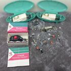 Singer Sewing Attachments ButtonHole Zigzagger Vtg Cases As-is Large Lot