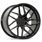 21 ROHANA RFX7 BLACK CONCAVE WHEELS RIMS FITS AUDI A7 S7 RS7