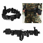 Police Utility Belt With Pouches Accessories Security Officer Law Enforcement
