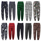 WOMENS PRINTED HAREM ALI BABA PANTS LADIES TROUSERS PLUS SIZE NEW BAGGY USA 4/22