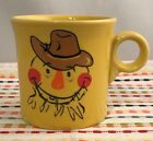 Fiestaware Sunflower Scarecrow Mug Fiesta Ring Handled Yellow Retired NWT