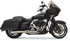 Bassani 1F12SS Short Road Rage III Stainless 2 Into 1 Exhaust System