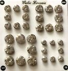 Hot ItemNew Price One Pair Bling Large Gem Cubic Zircon Screw Fit Ear Tunnels