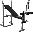 New Adjustable Weight Bench Home Fitness Multi Gym Sit Up Workout Abs