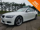 BMW 320 20TD 2010 d M Sport White Coupe Diesel low mileage car finance FSH