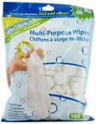 Wysi Multi Purpose eco friendly Compact Wipes Biodegradable Towelettes New