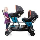 Triple Stroller Joovy Double Big Caboose Stand On For Kid Baby Graphite Child