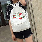 US Womens Girls Rucksack Shoulder Bookbags School Satchel Travel Canvas Backpack