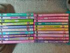 STRAWBERRY SHORTCAKE: HUGE LOT OF 20 DIFFERENT DVDs (SEE PICTURES FOR TITLES)  P