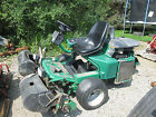 Textron Ransomes Golf GREENS MOWER Riding NO RESERVE Golf Course