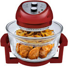 6-Quart Oil-Less Electric Fryer Halogen Heat Convection and Infrared Technology
