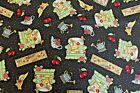 Mary Engelbreit 'Home Sweet Home' Cotton Fabric 2002, 3 Yards