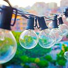 Patio Globe String Lights G40 Zitrades Vintage Edison Bulbs 24 Feet Waterproof