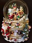 Kirkland Signature Musical Lighted Christmas Waterglobe Snow Globe Revolve Base