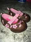 Faded Glory Toddler Girl Shoes Sz 3